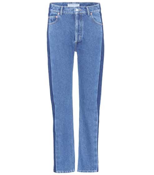 Balenciaga Gestreifte Jeans