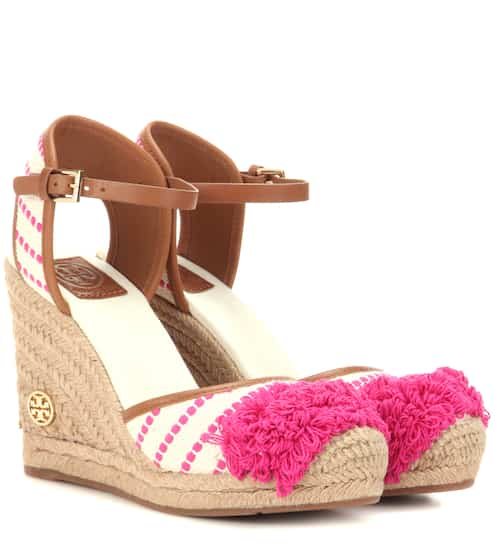 0efe82d44 Tory Burch Shaw 90 Wedge Espadrilles from mytheresa - Styhunt