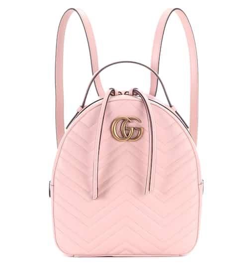 gucci. gg marmont matelassé leather backpack | gucci