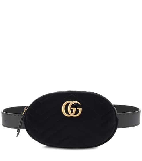 Gucci Gürteltasche Marmont aus Samt