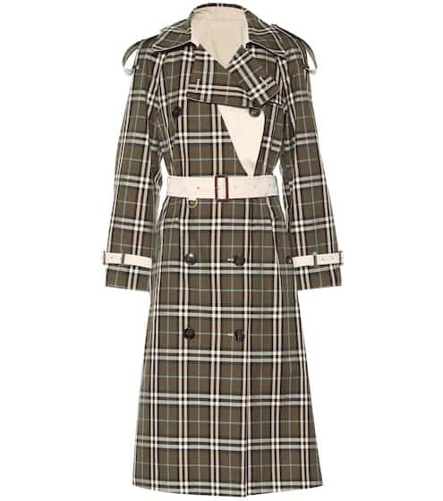 버버리 Burberry Eastleigh reversible trench coat