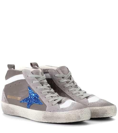 Golden Goose Deluxe Brand Exklusiv bei mytheresa.com – Sneakers Mid Star aus Leder
