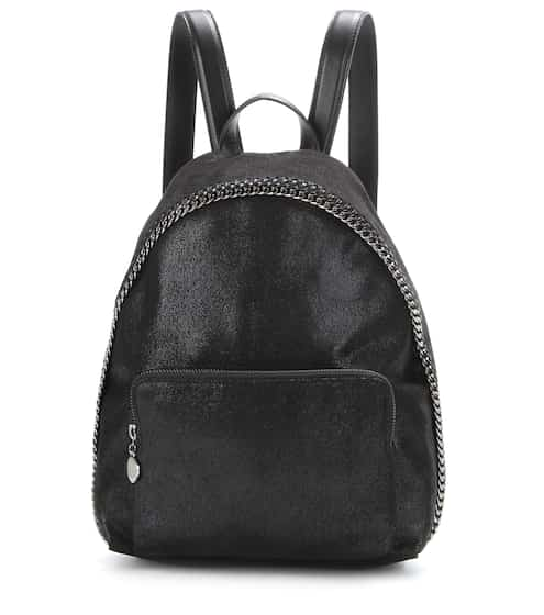 Stella McCartney Rucksack Falabella Shaggy Deer Small