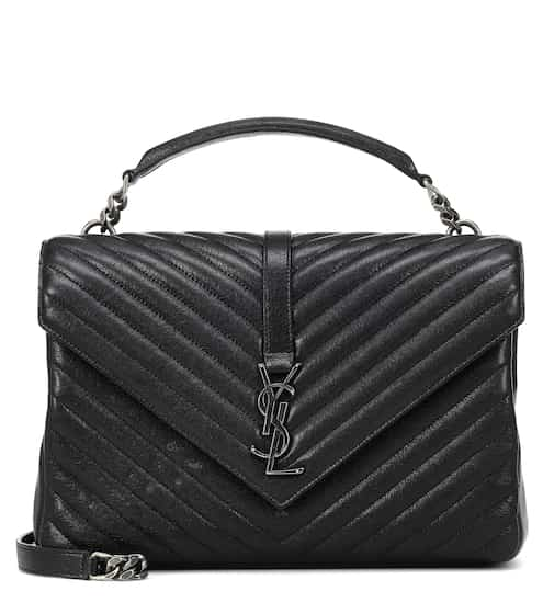 15948165db Borsa a tracolla Collège Monogram Large in pelle | Saint Laurent