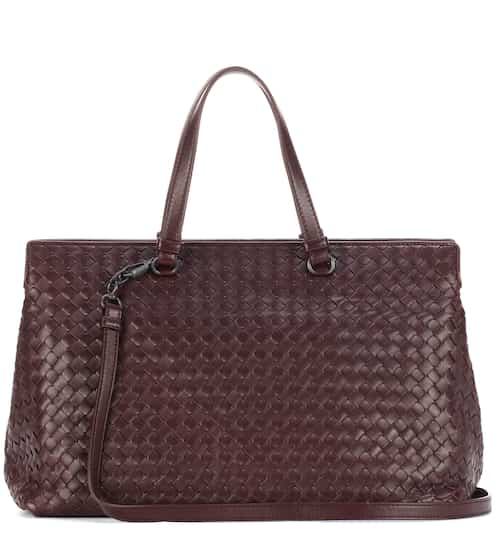 Bottega Veneta Tote Medium Top Handle aus Leder