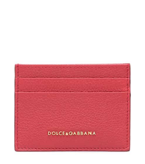 돌체 & 가바나 Dolce & Gabbana Leather card holder