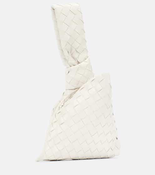 The Mini Twist leather clutch by Bottega Veneta, available on mytheresa.com for $1280 Natasha Oakley Bags SIMILAR PRODUCT