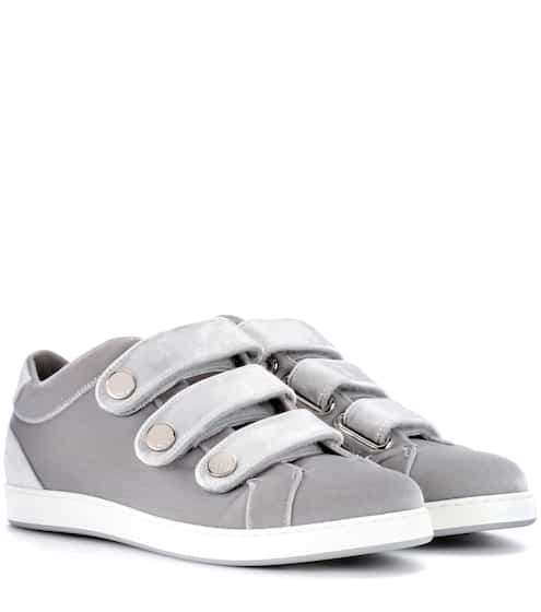 Jimmy Choo Sneakers NY aus Samt