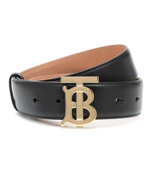 버버리 TB버클 벨트 Burberry TB leather belt