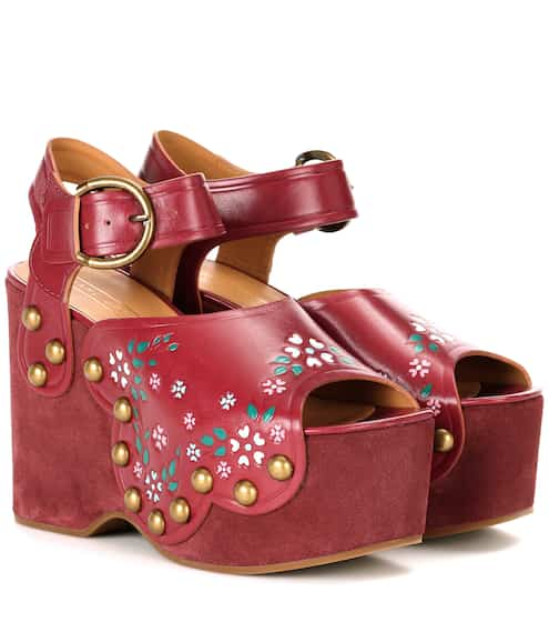 Marc Jacobs Wedges Dawn aus Leder