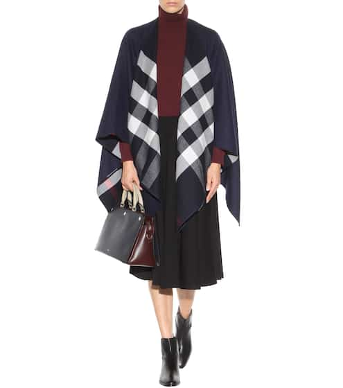 Checked wool scarf | Burberry
