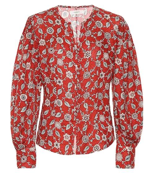 이자벨 마랑 에뚜왈 보태니컬 프린티드 린넨 탑 (김나영 착용 블라우스 버전) Isabel Marant Etoile Printed linen top