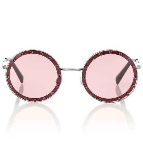 1961e59f95db Embellished round sunglasses