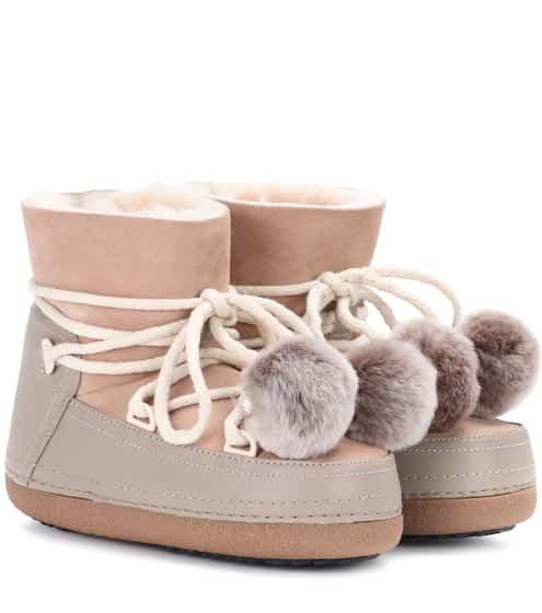 Inuikii Boots Classic Pompom