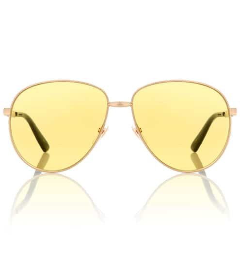 구찌 Gucci Exclusive to Mytheresa – aviator sunglasses