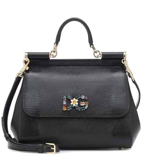 6b7a16b638 Sicily Medium leather shoulder bag