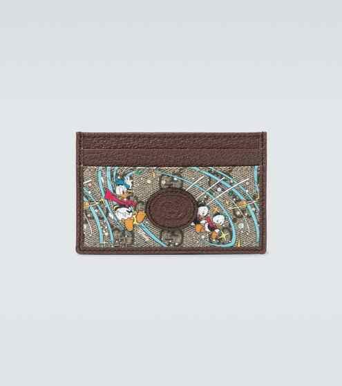 구찌 X 디즈니 도날드 덕 에디션 카드 지갑 Disney x Gucci Donald Duck© cardholder