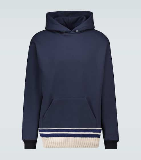 메종 마르지엘라 Maison Margiela Brushed striped sweatshirt