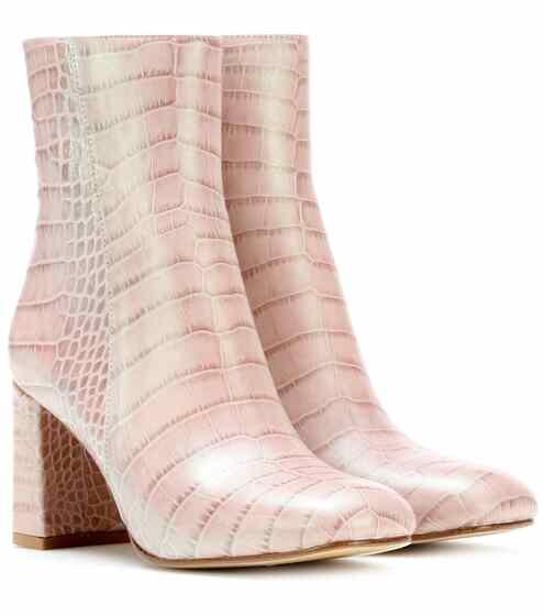 Maryam Nassir Zadeh Exclusive to mytheresa.com – Ankle Boots Agnes aus Leder