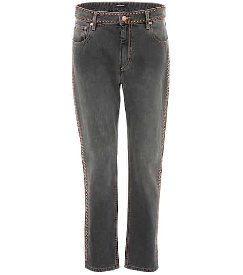 Isabel Marant Cropped Jeans Netiff