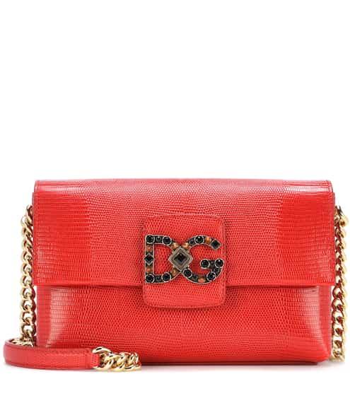 Dolce & Gabbana Schultertasche DG Millennials aus Leder