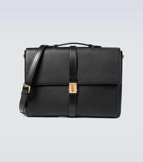톰 포드 서류 가방 Tom Ford Grained leather T clasp briefcase
