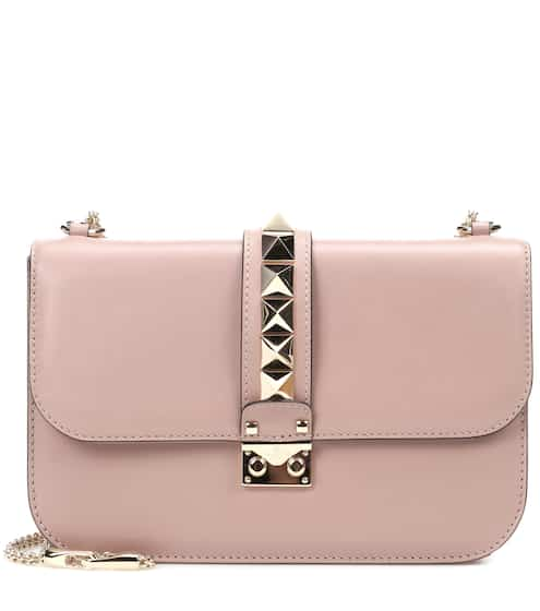 a391554d2d Valentino Garavani Lock Medium leather shoulder bag | Valentino