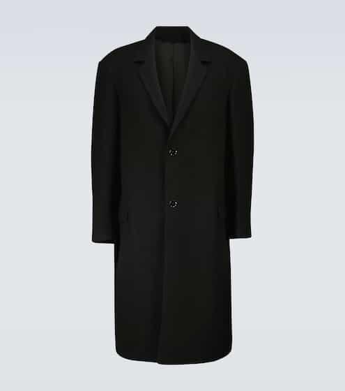 르메르 옴므 수트 코트 - 블랙 Lemaire Wool suit coat