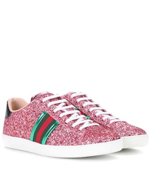Gucci Sneakers Ace mit Glitter