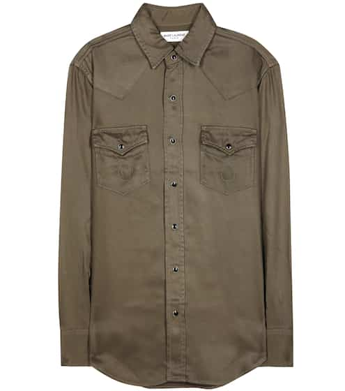 Saint Laurent Military-Hemd