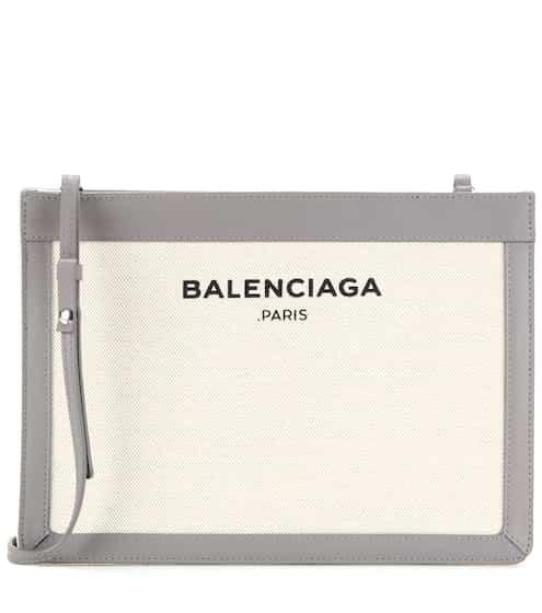 Balenciaga Tasche aus Canvas und Leder