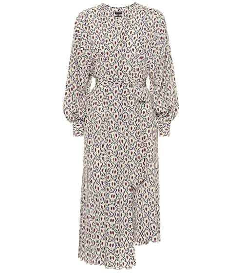 이자벨 마랑 Isabel Marant Alexandra stretch silk wrap dress