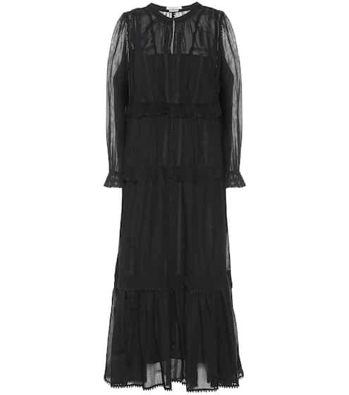884a74a0f2f Aboni embroidered cotton dress