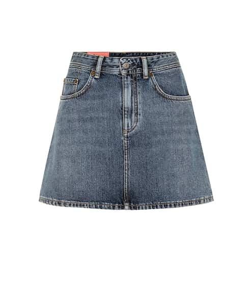 아크네 스튜디오 Acne Studios Blae Konst Caitlyn denim miniskirt