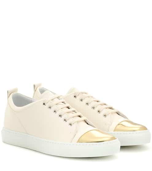 Lanvin Sneakers aus Leder