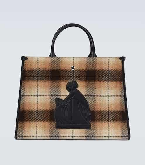 랑방 토트백 Lanvin In&Out canvas tote bag