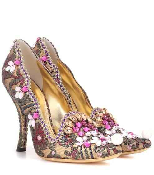 Dolce & Gabbana Pumps mit Verzierung