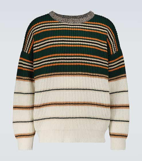 로에베 맨 스트라이프 스웨터 LOEWE Striped crewneck sweater