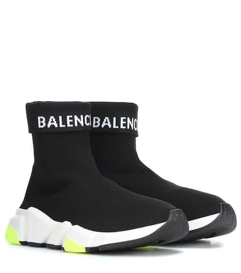 18 F/W 발렌시아가 커프 스피드러너 블랙네온 Balenciaga Speed Trainer sneakers