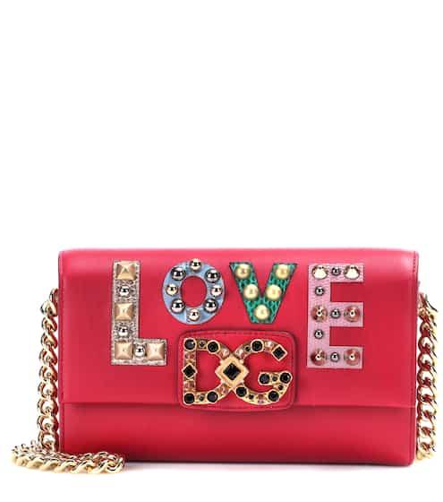 Dolce & Gabbana Schultertasche DG Millenials aus Leder