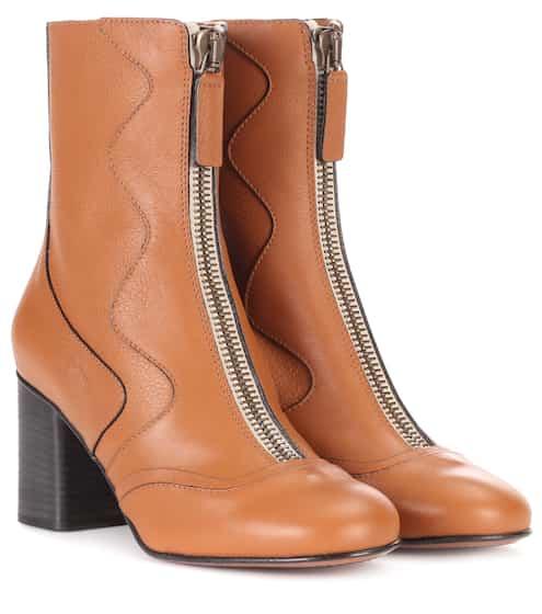 끌로에 Chloe Exclusive to mytheresa.com – leather ankle boots