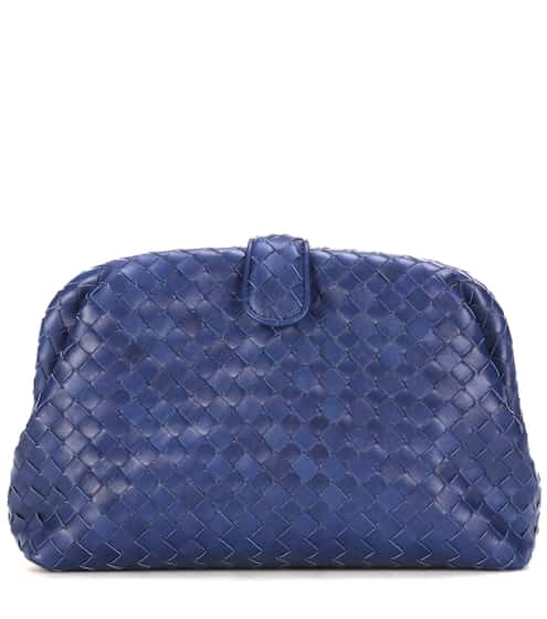 Bottega Veneta Clutch The Lauren 1980 aus Leder