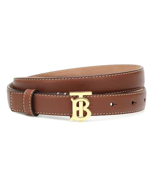 버버리 TB 가죽 벨트 Burberry TB leather belt