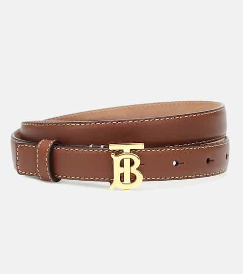 버버리 TB 가죽 벨트 Burberry TB leather belt