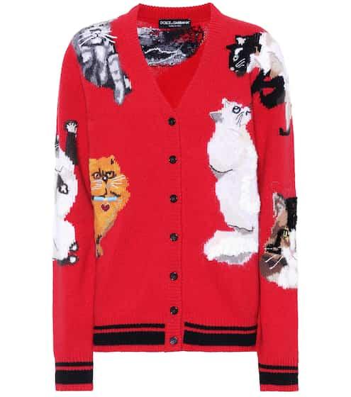 Dolce & Gabbana Cardigan mit einem Wollanteil