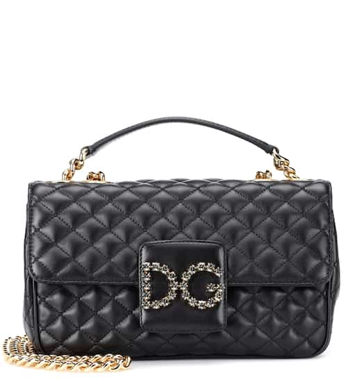 DG Millennials leather shoulder bag | Dolce & Gabbana