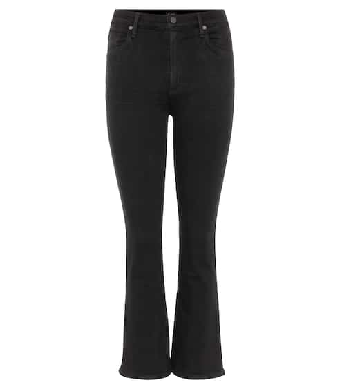 Citizens of Humanity High Rise Jeans Fleetwood Crop