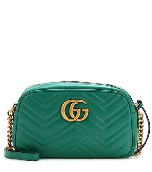 883c7f4ee02b20 Gucci GG Marmont Pearly Leather Clutch Bag from Neiman Marcus - Styhunt