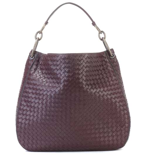 d6837c0928e Loop intrecciato leather shoulder bag   Bottega Veneta. Bottega Veneta
