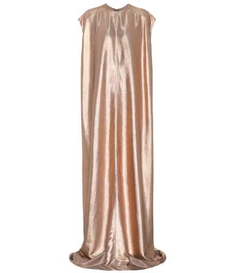 Rick Owens Langes Kleid aus Lamé